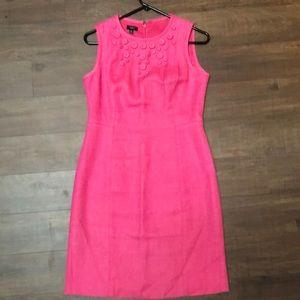 Dresses & Skirts - Pink linen dress by Talbots 4p